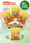 Nuevas gomas de pulpa natural de fruta 4%